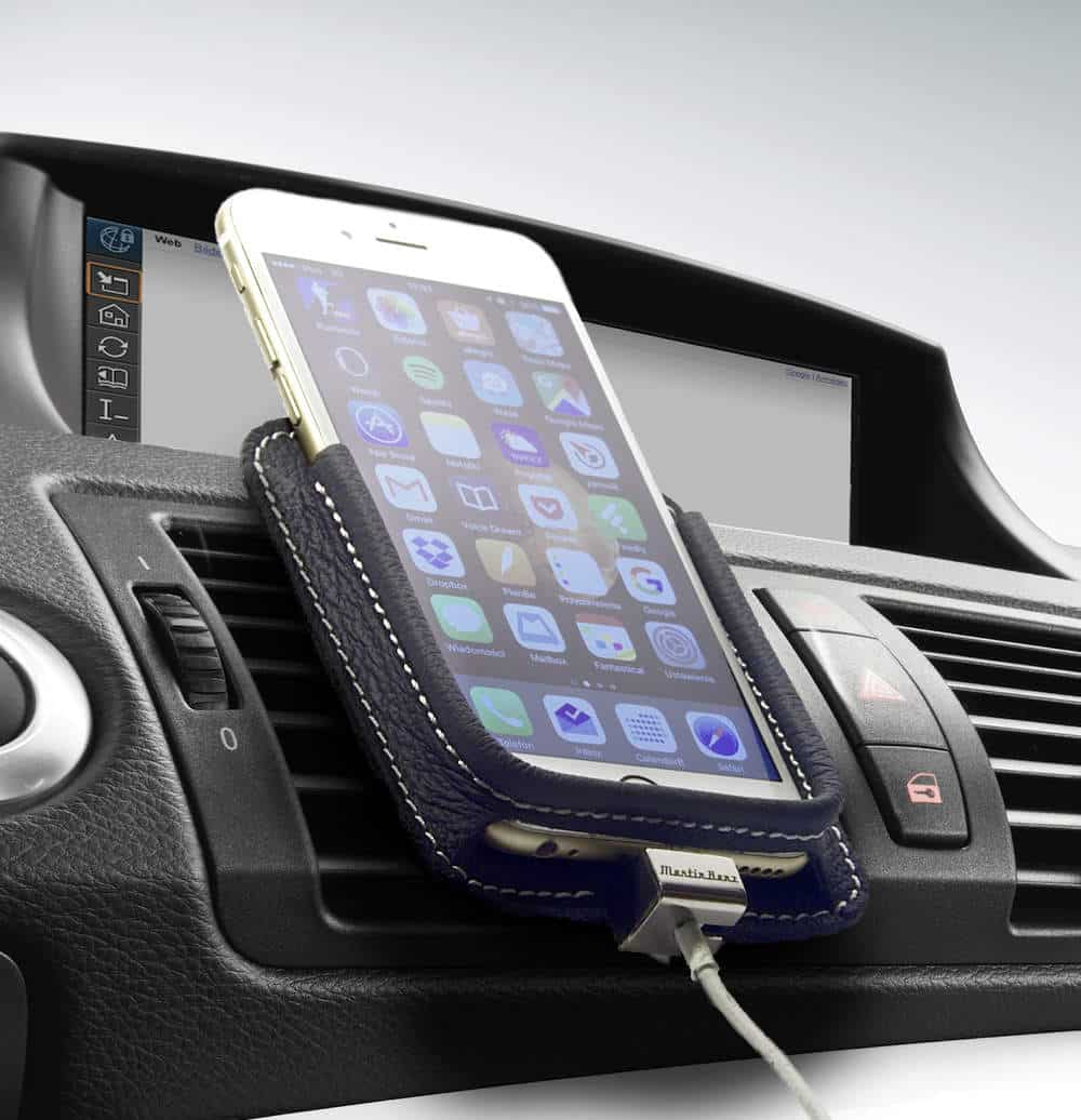Berrolia premium car mount for iphone for Chargeur mural iphone