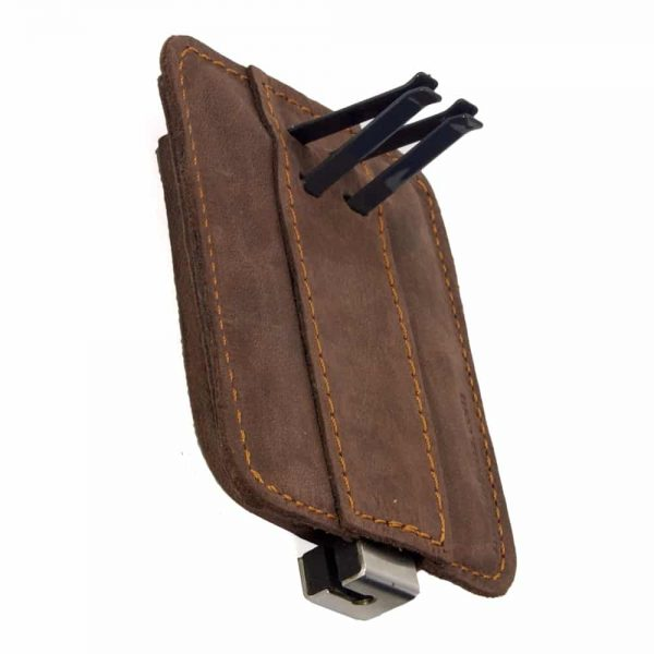 Berrolia car holder for iPhone, Size XL – Chocolate Brown