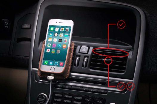 Berrolia: Premium handmade car mount for your phone